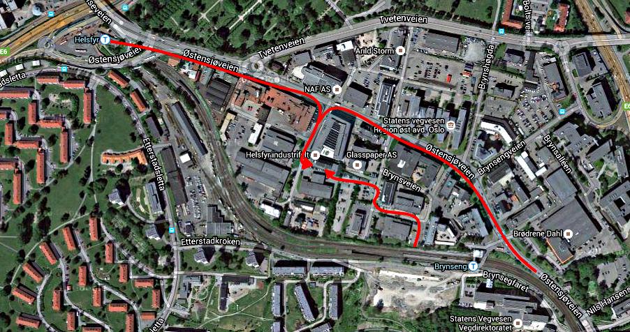 Klikk på kartet for å legge inn i GoogleMaps